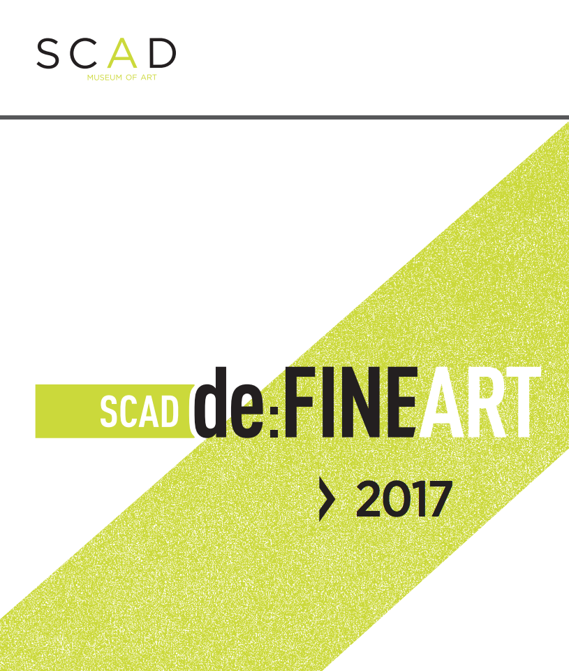 SCAD deFINE ART 2017