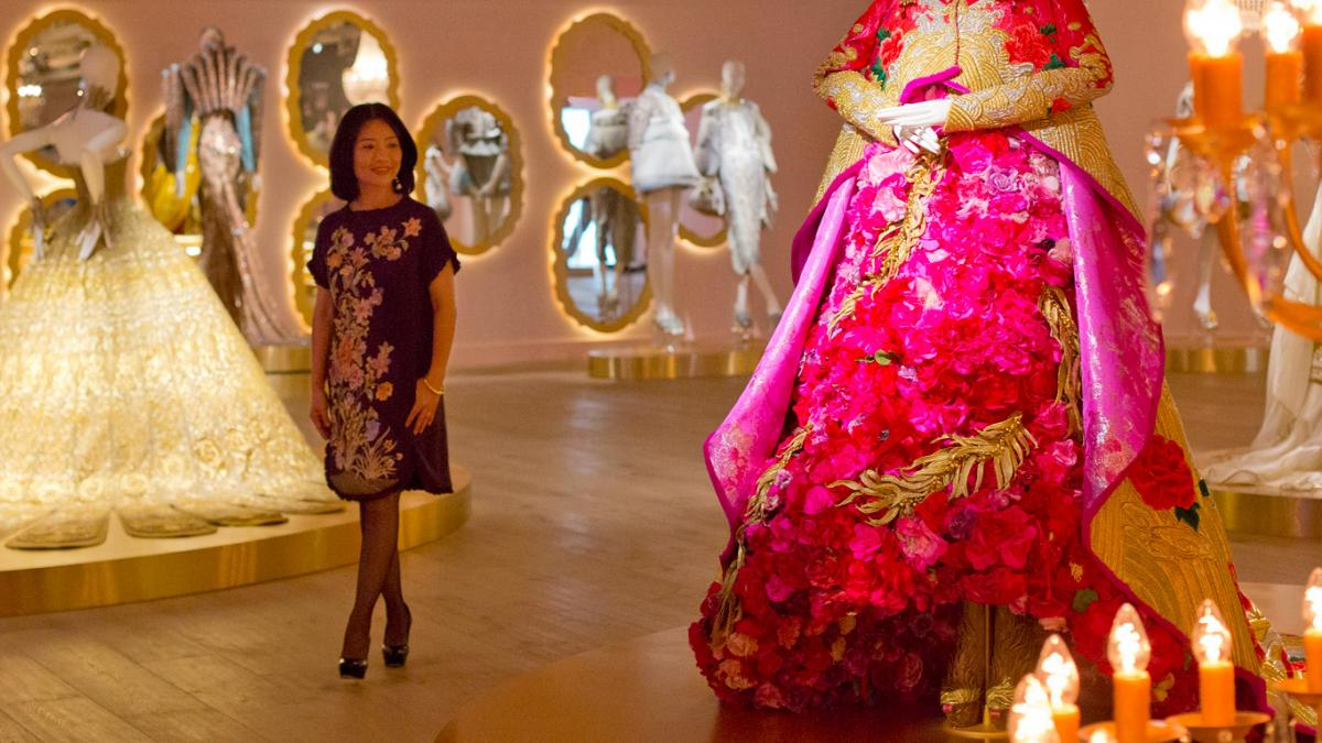 Guo Pei at SCAD FASH Museum of Fashion + Film
