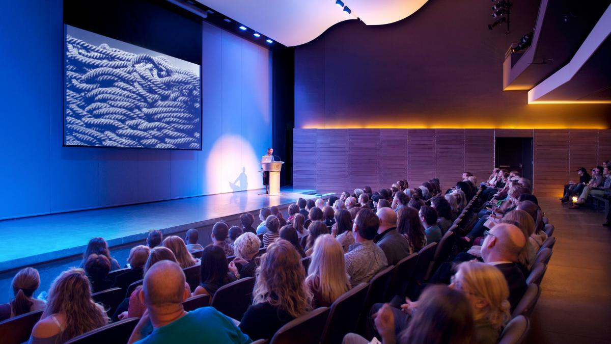 Liza Luo lecture at the SCAD Museum of Art