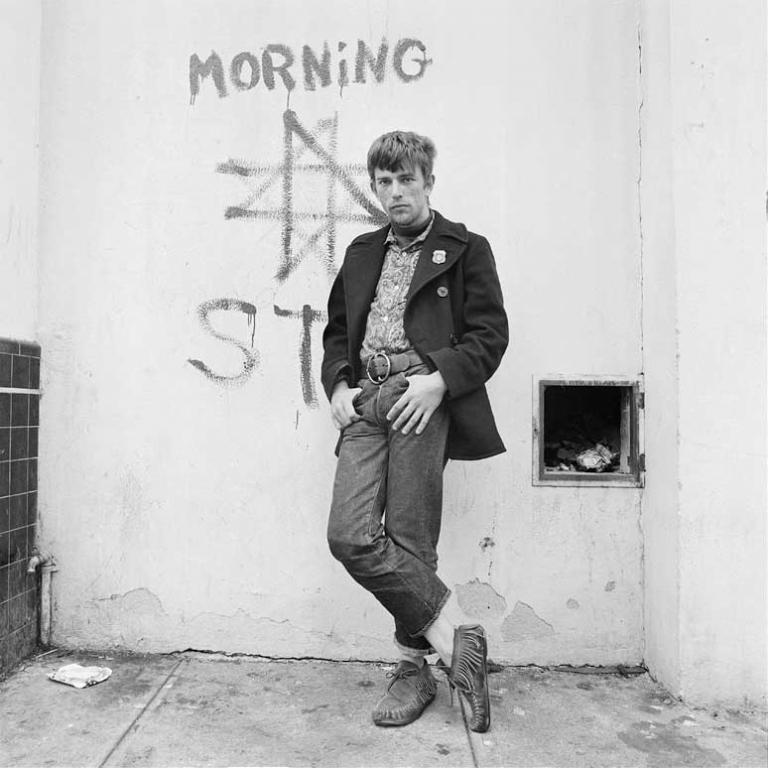 "Elaine Mayes, ""Russell"" from ""Haight Ashbury Portraits"" series, 1968, courtesy of the artist"
