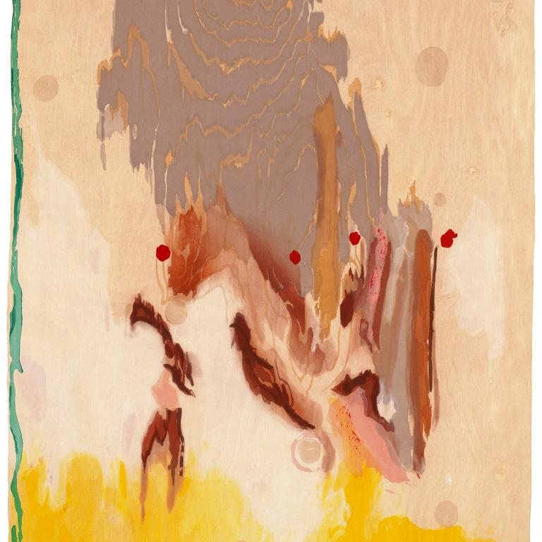 Signature image for Helen Frankenthaler exhibition