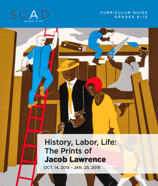 history, labor, life: the prints of jacob lawrence | scad museum of art