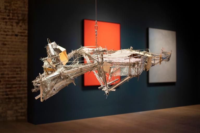 "Lee Bul ""City of the Sun"" exhibition installed at SCAD Museum of Art"