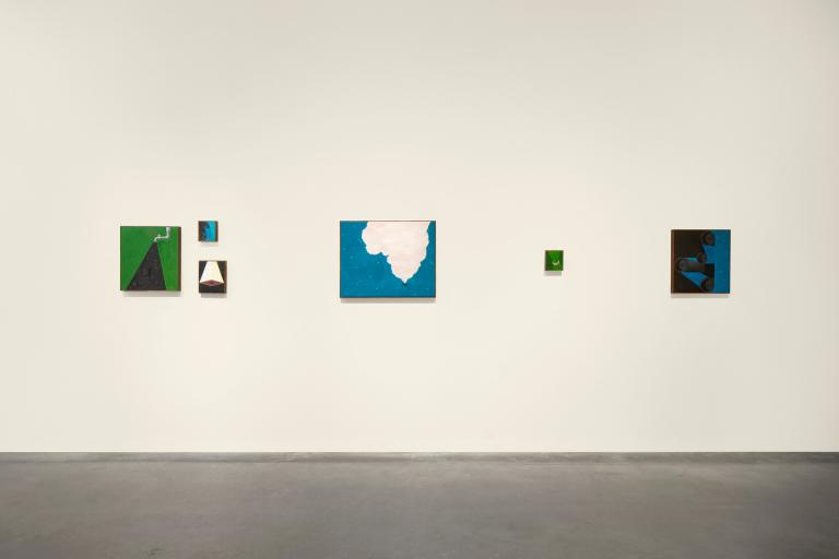 Installation view of Emily Furr exhibition
